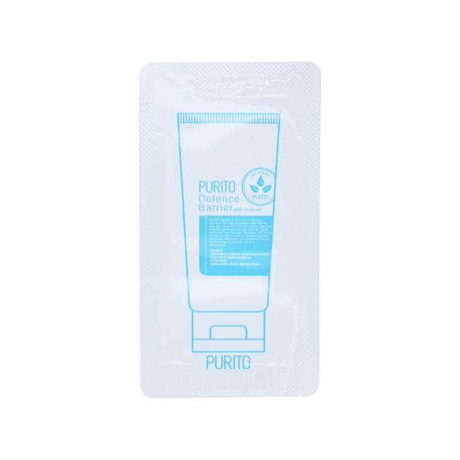 Пробник Деликатный очищающий гель Purito Defence Barrier Ph Cleanser 1 ml