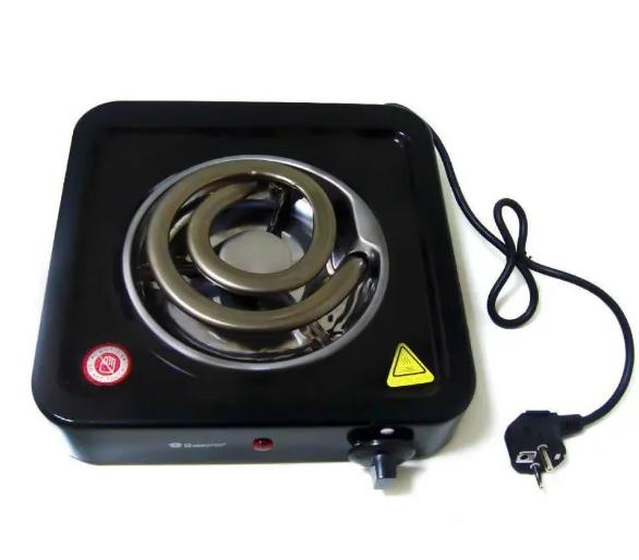 Электроплита Domotec MS 5531 (широкая спираль) плита электрическая настольная кухонная