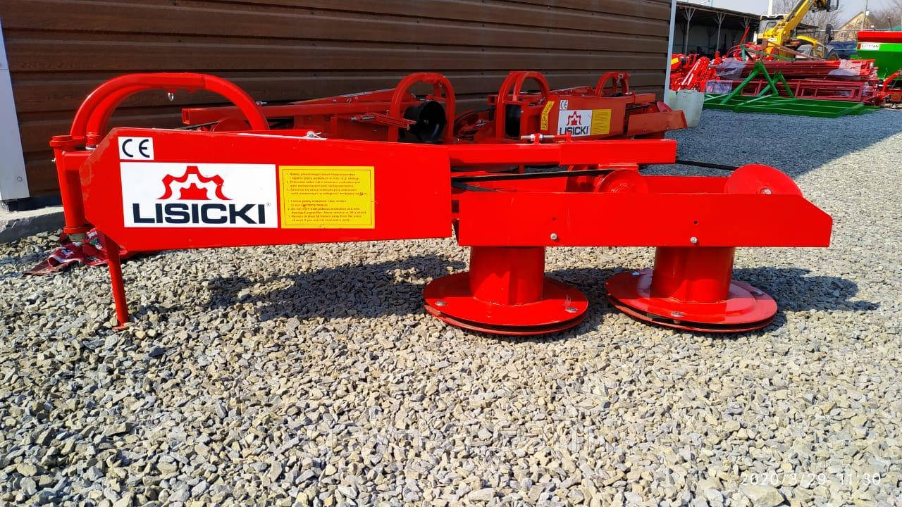 Косилка для минитрактора роторная  Lisicki 1,1 м с защитой