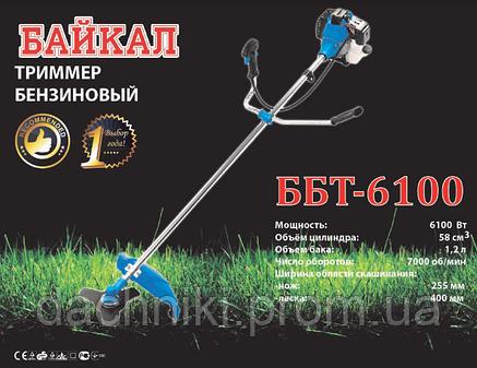 Двигатель бензиновый Байкал ББТ-6100 (2х-тактный), фото 2