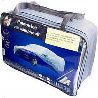 Тент на легковое авто MILEX PEVA + PP размер L (на основе / с карманом под зеркало / замок на двери) Milex