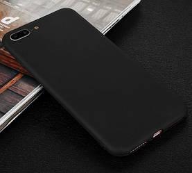 Матовый чехол iPhone 7 Plus / 8 Plus (силиконовая накладка) (Айфон 7 Плюс)