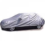 Тент на легковое авто MILEX PEVA + PP размер XL (на основе / с карманом под зеркало / замок на двери) Milex, фото 2