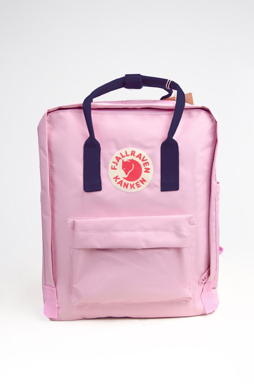 Рюкзак міський Fjallraven Kanken Classic 16 л, рожево-синій