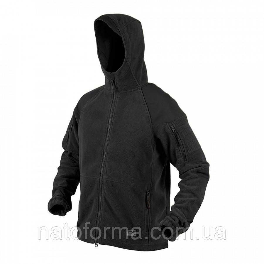 Тактическая флисовая курткаHelikon-Tex CUMULUS®, Black