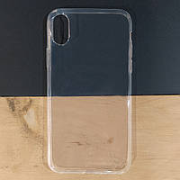 Чехол силиконовый Ultra Thin для Apple iPhone X / XS | Прозрачный чехол для Apple iPhone X / XS