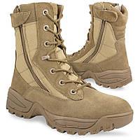 Ботинки Mil-Tec тактические 2 молнии coyote