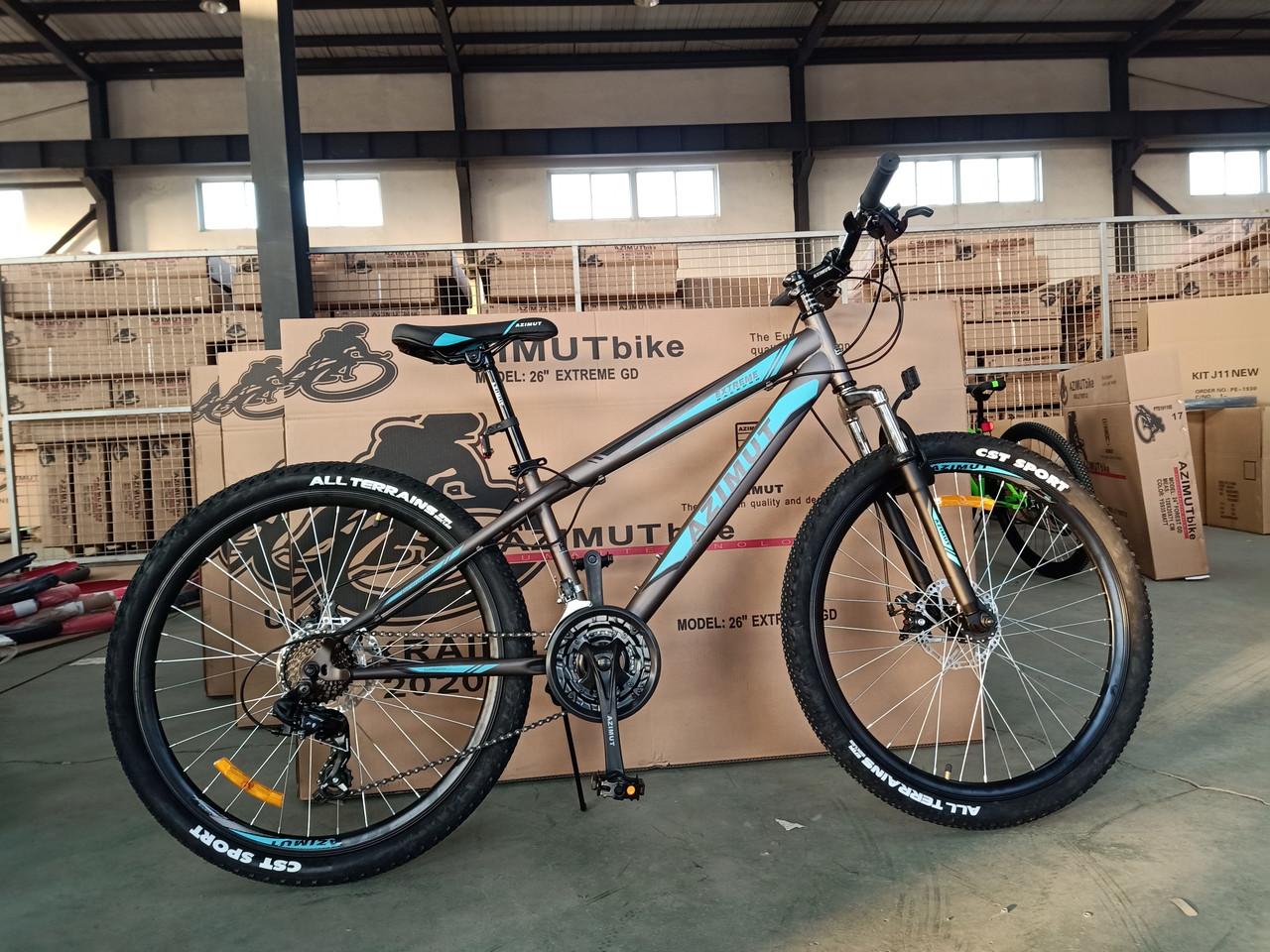 Горный подростковый велосипед Extreme 26 дюймов 14 рама Азимут