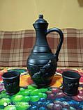 Глек великий керамічний ручної роботи, фото 8
