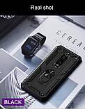 ZNP противоударный защитный чехол  с магнитным кольцом для телефона Xiaomi Redmi 8 / Redmi 8A, фото 5