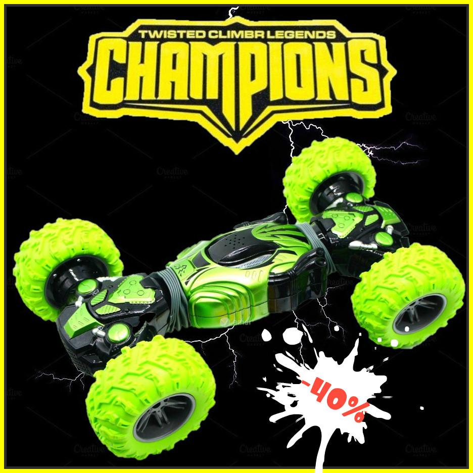 Машинка перевертыш на радиоуправлении Champion, машинка - трансформер, машинка вездеход
