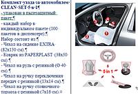 Комплект ухода за автомобилем CLEAN SET 5 в 1