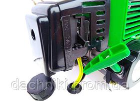 Триммер бензиновый (Бензокоса) Тайга ТБТ-6100 (1 нож 1 бабина с леской), фото 3