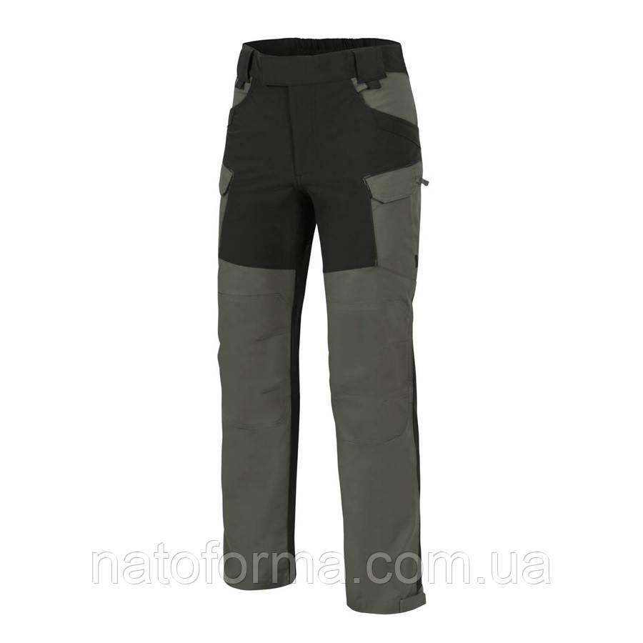Штани Helikon-Tex® Hybrid Outback Pants, Taiga Green/Black