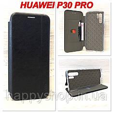 Чехол-книжка Gelius Leather для Huawei P30 Pro (Черный)