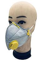 Защитный респиратор маска МИКРОН 2К степень защиты FFP2 KN95 с угольной фильтрацией