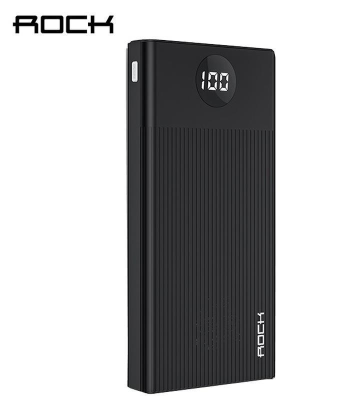 Внешний аккумулятор  Power Bank ROCK 10000 MAH QC3.0