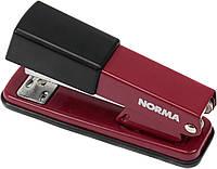 "Степлер ""Norma"" №24/6,26/6 20арк №4122 метал. червоний(1)(12)"