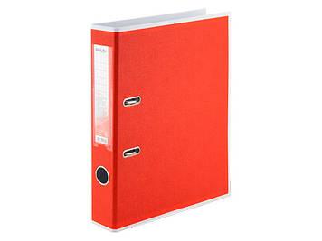 """Папка-реєстратор А4 """"Delta by Axent"""" 5см №1715-06 двостор BiColor PP(червона) зібраний(25)"""