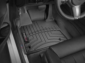Килими гумові WeatherTech BMW X5 (F15) 2014-2018 передні чорні