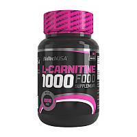 Л-карнитин для похудения BioTech USA L-Carnitine 1000 mg (30 tabs)