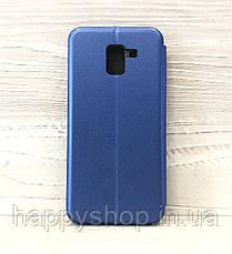 Чехол-книжка G-Case для Samsung Galaxy J6 2018 (SM-J600) Синий, фото 2