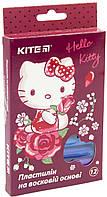 "Пластилін воск. 12 кольор. 200гр ""Kite"" №HK19-086 Hello Kitty(72)"