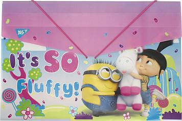 """Папка """"Yes"""" №491684 B4 """"Minions fluffy"""" на рез.(10)"""