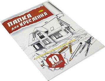 Папка для кресл. А4 (10арк./160)/ №ПК-160-10/Апельсин/(20)