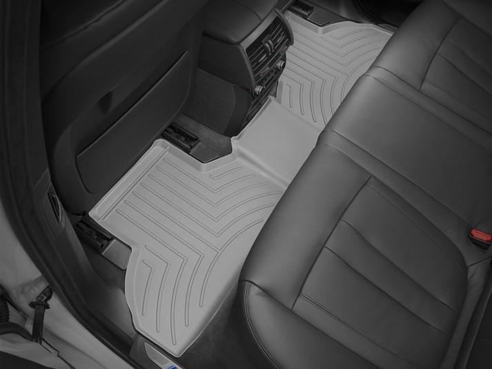 Ковры резиновые WeatherTech BMW X5 (F15) 2014-2018 задние серые