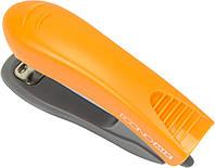 "Степлер ""Economix"" №10 16арк №E40285-06 пласт. помаранчевий"