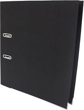"""Папка-реєстратор A4 """"Axent"""" 5см №1711-01 Prestige двостор. PP (чорна) зібраний(1)(25)"""