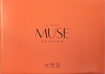 """Папка для малюв. А4+ (25арк./150) """"Muse"""" №PD-A4-041/Школярик/(45)"""