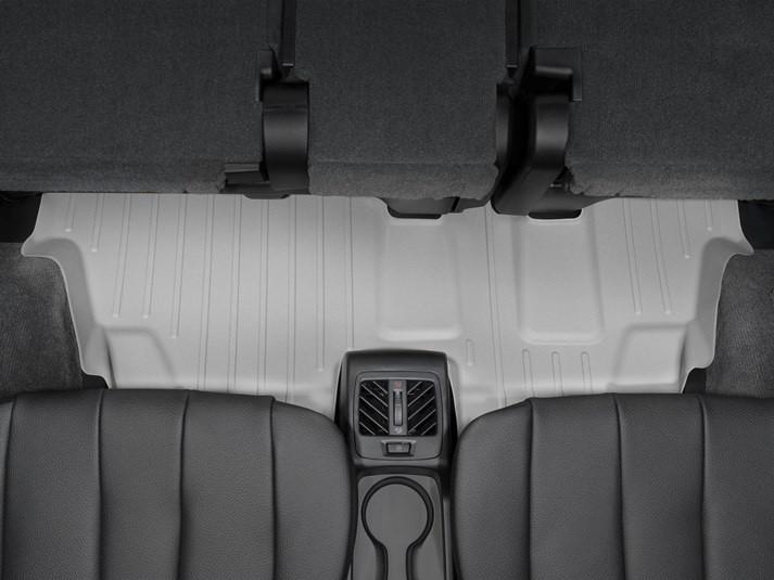 Ковры резиновые WeatherTech BMW X5 (F15) 2014-2018 третий ряд  серые