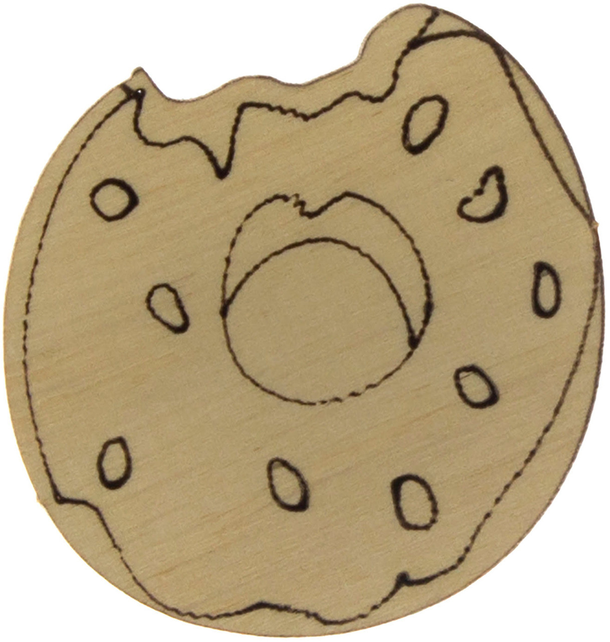 Пончик 4х4,5см фанера(5)