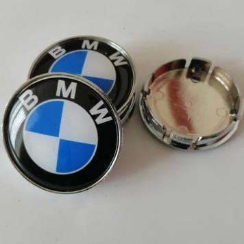 Колпачки на диски BMW 60/55мм 4 штуки