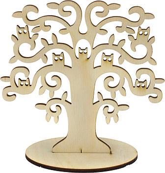 Дерево для декупажу 14х14см фанера №Х-100-3