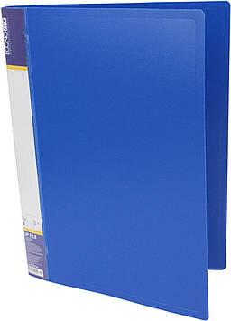 "Папка ""Economix"" №E31202-02 A4 CLIP B з притиск. синя(1)(20)"