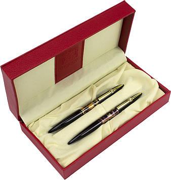 "Набір ручок кап.+чорн. ""Picasso"" №988 DUO в подар. упаковці,чорн. корпус"