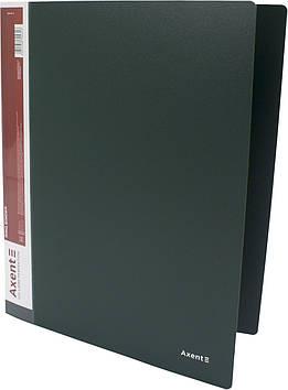 "Папка ""Axent"" №1208-05 A4 на 4кільця d-35мм (O)(зелена)(1)(10)"