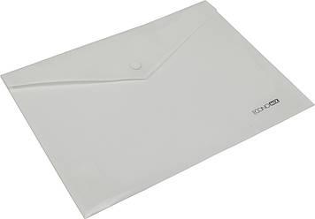 """Папка-конверт """"Economix"""" №E31302-14 B5+ на кнопці біла(12)(180)"""