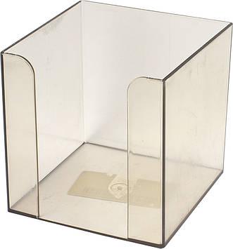 """Куб для паперу """"Арніка"""" №83031 9х9х9см димч. порожній(1)(36)"""