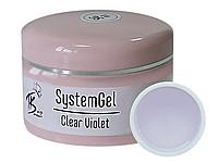 TK Vip-product гель для наращивания ногтей SystemGel #1 (Clear Violet), 50 мл