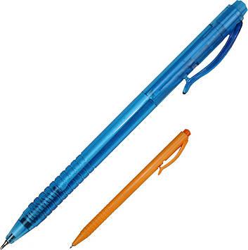 """Ручка авт. кульк. """"Radius"""" №0016 Reporter 0,7 мм синя,пластик уп.,мікс(50)(1000)"""