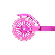Детский оригинальный двухколесный самокат для девочки L.О.L. SURPRISE! Розовый (T14742-U), фото 5