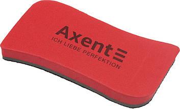 "Губка для дошки ""Axent"" Wave магнітна,червона №9805-04-А(12)"