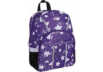 """Рюкзак дошкільн. """"CoolForSchool"""" Starry  Violet 1від. 2карм. 11"""" №CF86104/306(6)"""