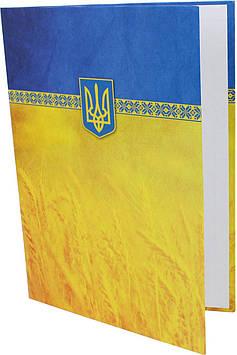 """Папка A4 """"До підпису""""""""Economix"""" №E30901-05 жовт.-блакитна(40)"""