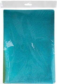 Фоаміран А4 блакитний,металізов.,товщина 1,8мм EVA №MT-EVA-012(5)(1000)