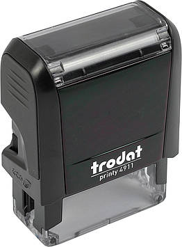 Оснастка для штампа пласт. 38х14мм Trodat №4911 (чорн.)